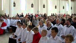 preview picture of video 'Poświęcenie kościoła w Mrzezinie (październik 2014)'