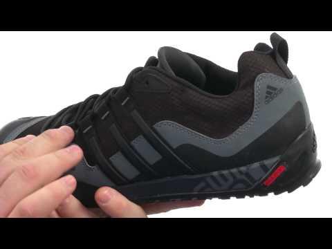 official photos 2351e 2518e Adidas Terrex Swift Solo black black carbon Video
