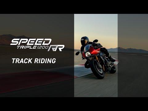 2022 Triumph Speed Triple 1200 RR in Belle Plaine, Minnesota - Video 4