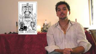 7. The Chariot - Upright and Reversed