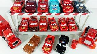 Машинки Молния МАКВИН все мои машинки ТАЧКИ Мультик про машинки Маквин и грузовичок МАК Disney Cars