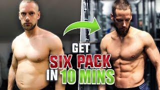 6 PACK ABS FAST! *10 Minute Workout*
