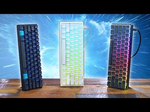 My 3 Favorite 60% Keyboards