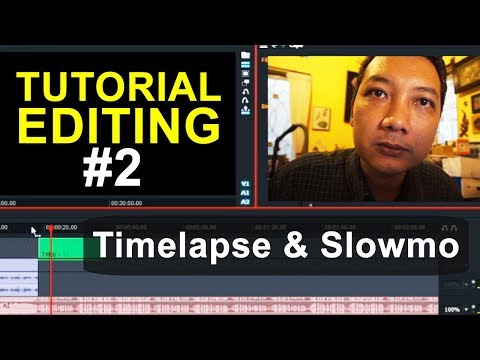 Tutorial Editing #2 Lightworks – Timelapse dan Slow Motion