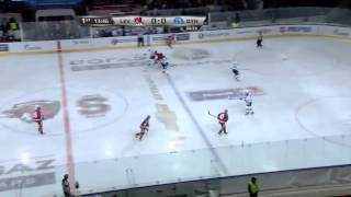 KHL 2013 -  09/23 KHL Top-10 Hits of the Week