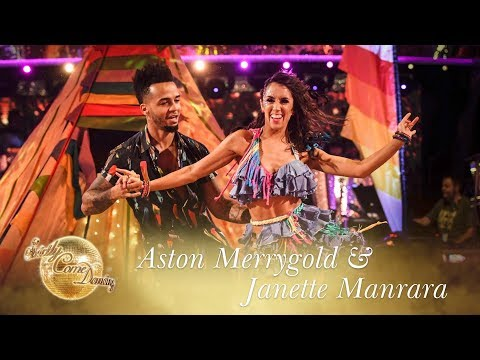 Aston Merrygold and Janette Manrara Salsa to 'Despacito' – Strictly Come Dancing 2017