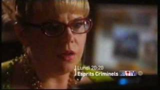 Trailer criminal minds 5x01 in French ba esprits criminels 5X01 en francais