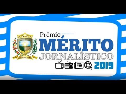 Câmara Municipal de Teresina PRÊMIO MÉRITO JORNALÍSTICO 2019