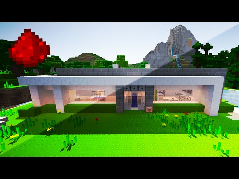 My Redstone Modern House 20 Redstone Creations