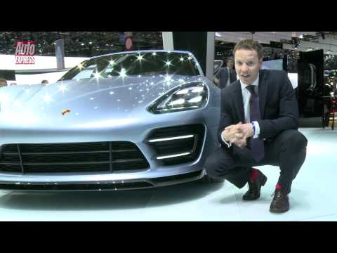 Porsche Panamera Sport Turismo concept at the 2012 Paris Motor Show - Auto Express