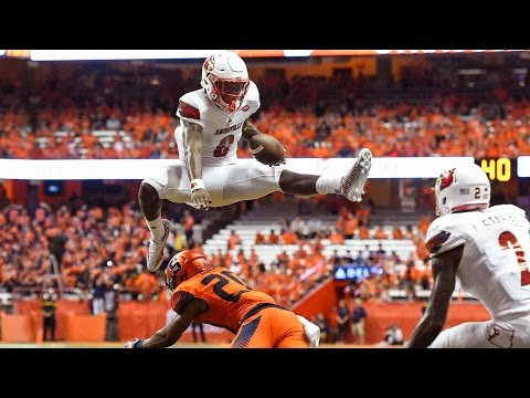 Lamar Jackson Leaps Over Syracuse For Touchdown | CampusInsiders