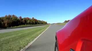 preview picture of video 'Monticello Motor Club Race Track in a BMW 1M'