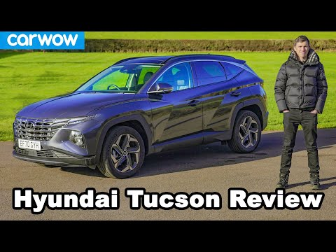 Hyundai Tucson 2021 review - see how many other cars it copies...