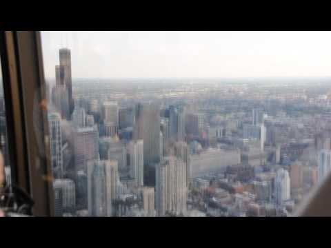 96 stories high: City views from the John Hancock Center's Signature Lounge