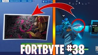 *LAST* FORTBYTE 38 LOCATION - ACCESSIBLE WITH THE VENDETTA OUTFIT AT NORTHERN MOST SKY PLATFORM