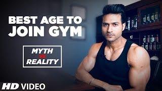 Best Age to Join the GYM - Myth Vs Reality || Guru Mann Tips For Healthy Life