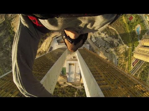 Benidorm BASE Jump with Jokke Sommer