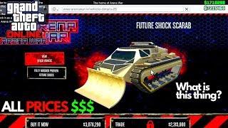 gta 5 online arena war all cars - TH-Clip
