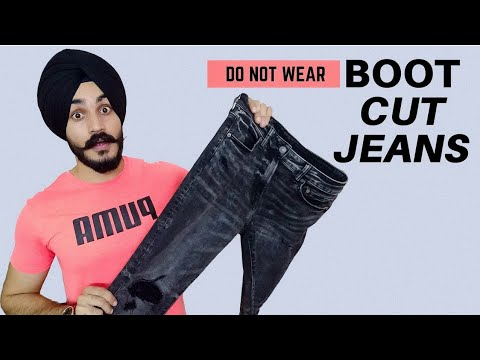 """""""Don't Wear BOOT CUT Jeans"""" Watch this! Best Jeans advice 2019."""