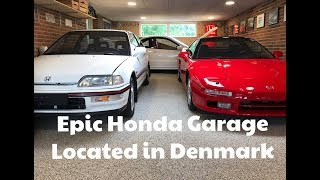 Inside a Honda Collectors Garage in Denmark