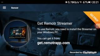 Street Fighter X Tekken (pc game) play it on any android phone using Remotr app