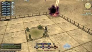 FFXIV Omega 3 Lagging in the sand tiles
