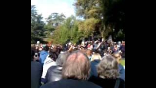 Occupy Davis Chancellor Katehi's Speech