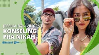 Siap Mulai Perjalanan Cinta yang Baru, Jessica Iskandar & Vincent Verhaag Jalani Konseling Pra Nikah