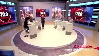 """Se estrena el programa de TeleMadrid """"120 Minutos""""Producido por Cuarzo Producciones"""