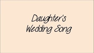 Daughters wedding song ~ Robert Lottmann (Dale Watson Cover)
