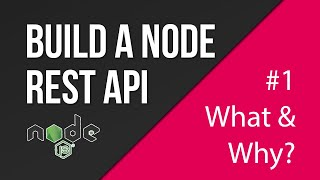 What is a RESTful API?   Creating a REST API with Node.js