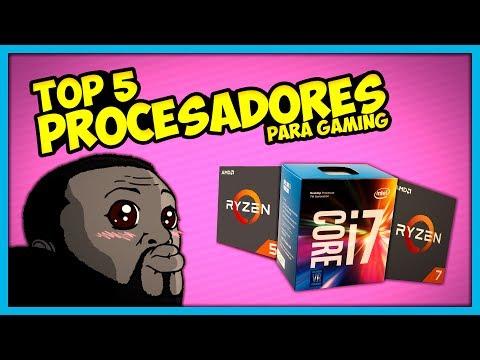Top 5 MEJORES PROCESADORES | PC GAMER