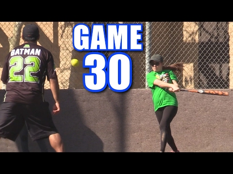 CIARA TRIES TO MURDER BATMAN!   Offseason Softball League   Game 30