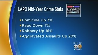 For Second Year In A Row, Crime Increases In Los Angeles