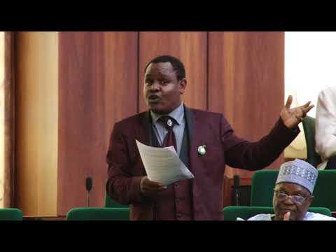 Hon Mohammed Gudaji Kazaure,9 May 2018   Bill to establish the Nigeria Natural Medicine Development