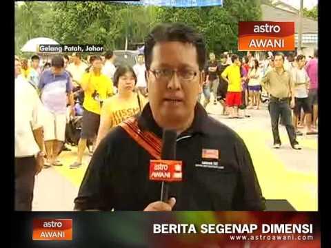 Laporan terkini Harris dari Gelang Patah, Johor