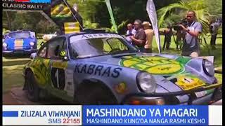 Mashindano ya magari kanda la Afrika mashariki  yang'oa nanga Mombasa | Zilizala Viwanjani
