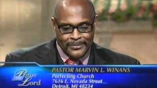 Marvin Winans Sr and Jr with Wintley Phipps on TBN Jun 13, 2011 Father's Day Special Interview