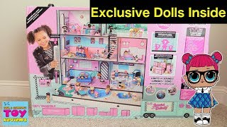 LOL Surprise Doll House Dollhouse Surprise Blind Bag Moving Truck Unboxing Review | PSToyReviews