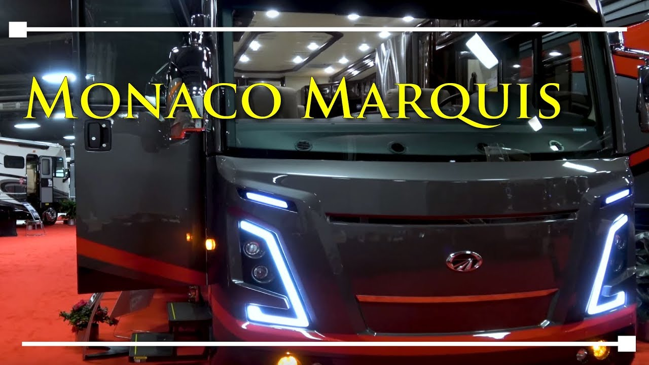 2018 Monaco Marquis Class A Motorhome – RVingPlanet.com First Look at New RV