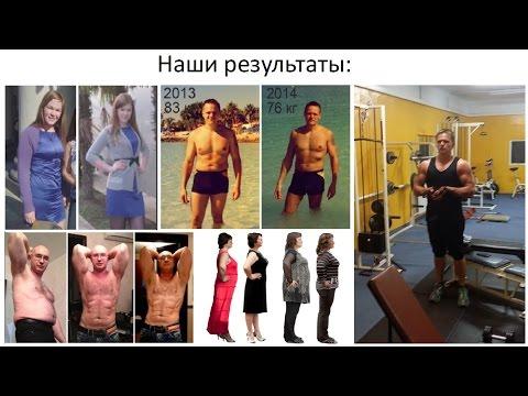 Силовые тренировки и похудение питание