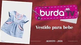 Burda na TV 102 – Vestido de bebê