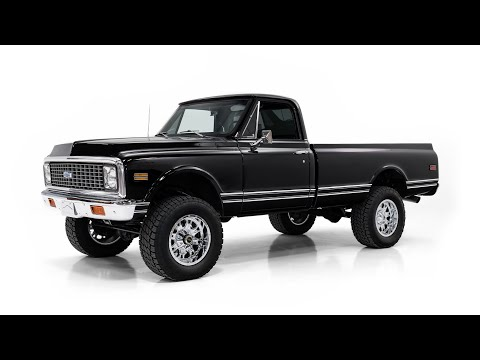 Video of Classic 1971 Chevrolet K-10 located in Missouri - OLTK