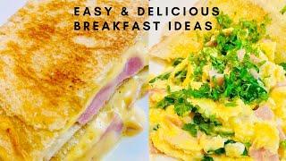 2 Easy & Delicious Breakfast Recipes