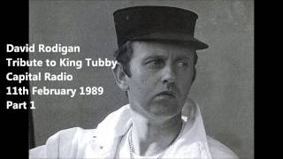 David Rodigan – Tribute to King Tubby – Part 1