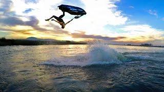 GoPro: Freestyle Jet Ski Tricks on a River with Eli Kemnitz