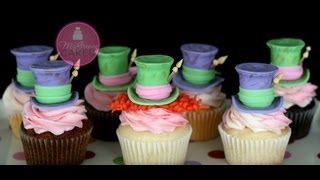 Fondant Mad Hatter Toppers; A McGreevy Cakes Tutorial