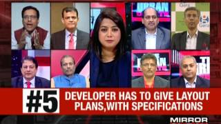 Discussion on Real estate gets a regulator – The Urban Debate May 1on