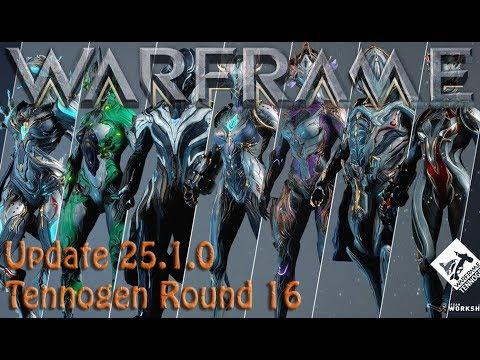 Warframe - Update 25.1.0 Tennogen Round 16