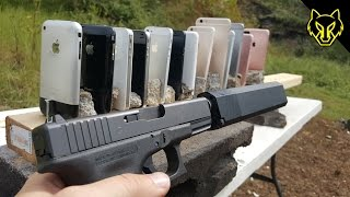 Will a Glock 19 Shoot Through Every iPhone Ever?